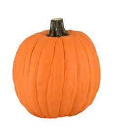 Maker's Halloween Funkins Carvable Pumpkin Orange 12''