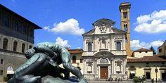 LA CHIESA DI OGNISSANTI, A FIRENZE – Un sogno completato durante il 1250, ricostruito in stile barocco intorno 1627 – Meeting Benches