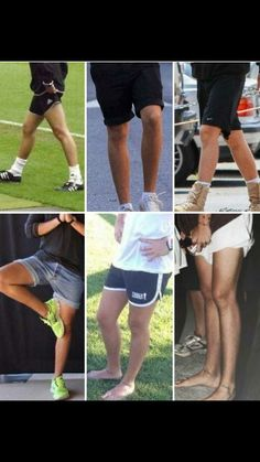 If I didn't know harry this well I'd think those are girl legs