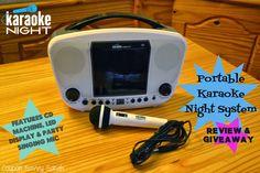 Coupon Savvy Sarah: Review AND Giveaway: Portable Karaoke Night System...