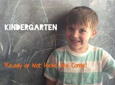 Are you ready to send your kindergarten? Is your child ready for kindergarten? Read this post by one of the moms on our team on how she is handling the transition.