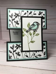 Shell Stamps: Stampin' Up! Petal Palette, Stampin' Blends, Petal Passion dsp from 2018 Occasions catalog