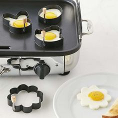 Easter Shapes Egg Cooking Cutters: We-Care.com will donate a portion of every purchase through this link to charity!