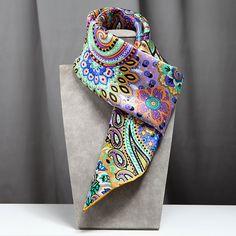 scarves bohemian style golden color