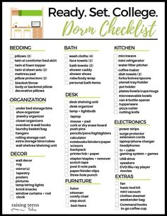 15 Space Saving Dorm Hacks from an Experienced College Mom Raising Teens Today College Dorm Room Ideas College dorm Experienced Hacks Mom Raising saving Space Teens Today Dorm Room List, College Dorm List, Guy Dorm Rooms, College Dorm Checklist, College Mom, College Dorm Essentials, Cool Dorm Rooms, Packing Checklist, Room Essentials