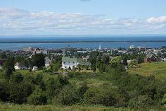 canada view québec stlaurent vue saintlaurent qc rimouski fleuve stlawrenceriver hauteurs