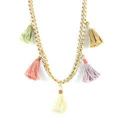 Pastel Cirque Du Chic Necklace #ettika #boho #jewelry #gypsy #hippie #Necklace
