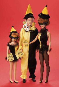 Barbie Masquerade #944 (1963-1964  Ken and Skipper also had matching ensembles - Skipper's isMasquerade #1903 (1964 - 1965)