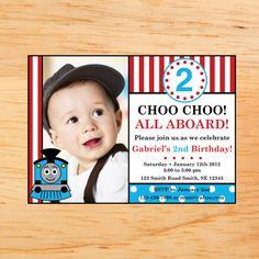 Thomas the Train Invitations!
