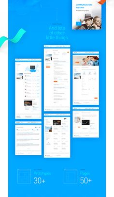 Rethink the concept of Rostelecom corporate website. Make it more visually appealing and user-friendly, to simplify the structure.