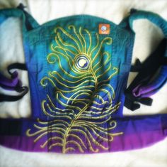 (Customized - hand dyed & painted by THREE TIDES ARTISAN) TULA Baby Carrier