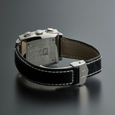 TAG HEUER MONACO STEVE MCQUEEN AUTOMATIC // CW2118 // PRE-OWNED caseback and strap