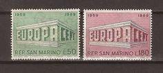 SAN MARINO EUROPA 1969 mnh