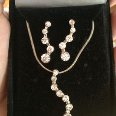 HOST PICK 11/27 Necklace and earring set Never worn Jewelry Necklaces