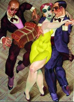 'MACHADO (Tango 2)' by Juarez Machado (b 1941, Joinville, Santa Catarina, Brazil), since 1986 based in Paris.