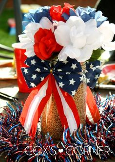 Fourth of July decorations |