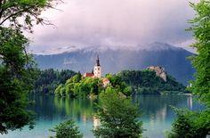 Hotel Vila Bled in Slovenia....magical!     www.vila-bled.com