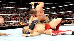 JOHNNY CENA VS DANIEL BRYAN MATCH FOR THE WWE CHAMPIONSHIP