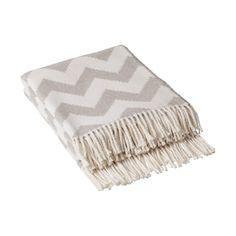 Pledd Chevron grå Chevron, Towel, Blanket, Ideas, Blankets, Cover, Thoughts, Comforters
