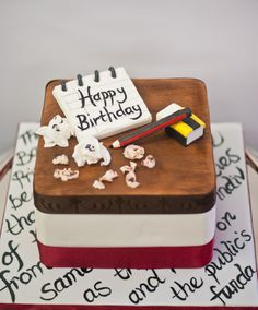 Cake for a Journalist