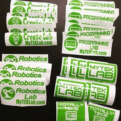 BIG changes hint #3. We are gonna need to make more decals. Come on in for your FREE car decal! #technologyforkids #technology #tech #roboticslab #robotics #programminglife #programminglab #newgeneration #lovetechnology #labtime #lab #learn #kidsgeek #kids #intelligent #geeks #florida #education #CreateLab #children #bethefuture #myteklab #smart #3dprintinglab #3dprinting #3d #photooftheday #stickers by myteklab