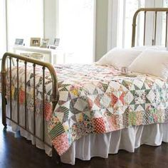 Starring Repros! FREE full size quilt pattern designed by Sarah Maxwell and Dolores Smith of Homestead Hearth Featured in McCall's Quilting May/June 2015