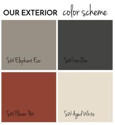 Trendy front door colors with gray siding grey exterior paint, Exterior Gris, Exterior Gray Paint, House Exterior Color Schemes, House Paint Exterior, Exterior Shutters, Exterior Paint Color Combinations, Gray Siding, Exterior Paint Colors For House With Stone, Best House Colors Exterior