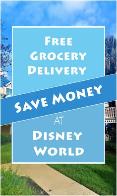 Save money on your next Disney World trip by having your meals delivered to your room. 5 grocery stores near by will deliver groceries to your resort, including Amazon! |Save money at Disney World| get groceries at Disney World| grocery delivery service Disney World| Disney World| Disney World Vacation, Disney Cruise Line, Disney Vacations, Disney Travel, Disney World Tips And Tricks, Disney Tips, Disney Money, Disney Stuff, Disney Planner