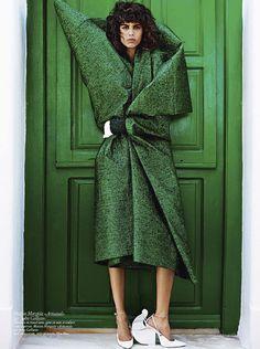 """she-loves-fashion: """" Mica Arganaraz Vogue Paris November 2015 """""""