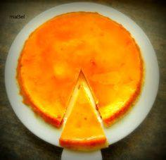 Pasteles de colores: Flan de queso de Eli