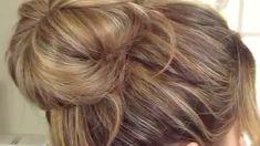 Hair bum - - Hair updo on Vimeo Bun Hairstyles For Long Hair, Braids For Short Hair, Braided Hairstyles, Hair Updo, Hair Bun Tool, Natural Hair Styles, Short Hair Styles, Hair Upstyles, Long Hair Video