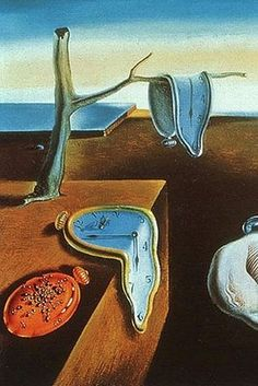 by Salvador Dali Spanish painter.~~~Persistence of Memory, by Salvador Dali tape to shrinky dink page. punch holes two holes in one side for a book. Make a book of famous art - colored by you. L'art Salvador Dali, Salvador Dali Paintings, Art Moderne, Surreal Art, Famous Artists, Oeuvre D'art, Love Art, Art History, Amazing Art