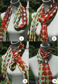 Spartina 449 Modern Lux Squared scarf tied into a Queen's Drape - Spartina available at Walker Boutique!clever scarf tying ideas by serena{Fashion Stylist} 3 Clever Ideas for Scarf Ty ingAdorable and clever way to tie a scarf! I love the detail and t Ways To Wear A Scarf, How To Wear Scarves, Tie Scarves, Square Scarf Tying, Scarf Knots, Tie A Scarf, Scarf Tieing, Mode Style, Woman Clothing