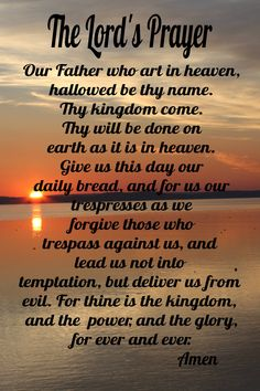 beautiful refrigerator magnet created with The Lord's Prayer. Prayer Scriptures, Bible Prayers, Faith Prayer, God Prayer, Prayer Quotes, Prayer Of Salvation, Bible Verses, Dad Quotes, Prayer Cards