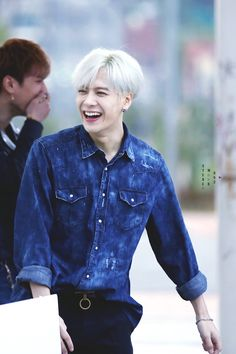 I love that smile! Jackson Wang #GOT7 #JacksonWang #UltimateBias