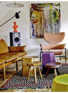 AD SPAIN - TRE PEZZI, design Franco Albini