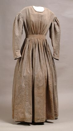 Homespun dress from Alabama, 1863 Not a beautiful gown, but one I would have worn here in Alabama if I had lived in 1863 during the civil war.