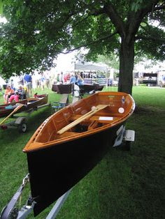 Goat Island Skiff Amateur Style and the Sea Pearl 21 Too: Mystic Seaport/WoodenBoat Show Pt. 1