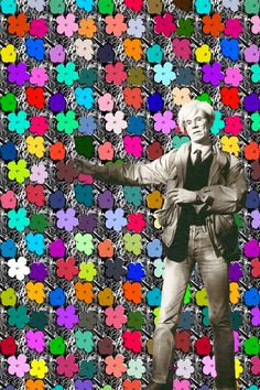 Small Flowers | Flavor Paper Warhol Wallpaper