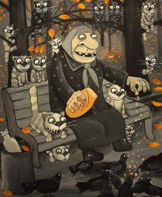 Vasya Lozhkin, el pintor punk de gatos y mujeres mayores | Lifestyle de AméricaEconomía : Artes, Diseño, Estilo, Motores, Ocio, Placeres, Salud, Viajes, Aire libre | Lifestyle de AméricaEconomía