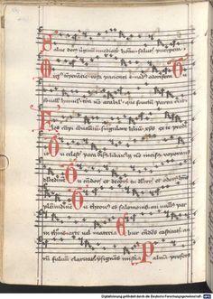 Cantionale, Geistliche Lieder mit Melodien. Münchner Marienklage Tegernsee, 3. Drittel 15. Jh. Cgm 716  Folio NP