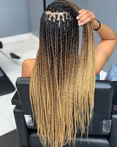 Braids Hairstyles Pictures, Cool Braid Hairstyles, Braided Hairstyles For Black Women, African Braids Hairstyles, Kid Hairstyles, Pretty Braids, Cool Braids, Beautiful Braids, Ombre Box Braids
