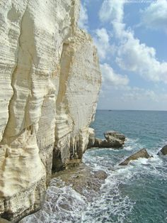 Rosh HaNikra. Northernmost point on the Mediterranean Sea, border with Lebanon.