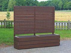mobiler sichtschutz mit pflanzkasten h190 blumenkasten garten pinterest mobiler. Black Bedroom Furniture Sets. Home Design Ideas