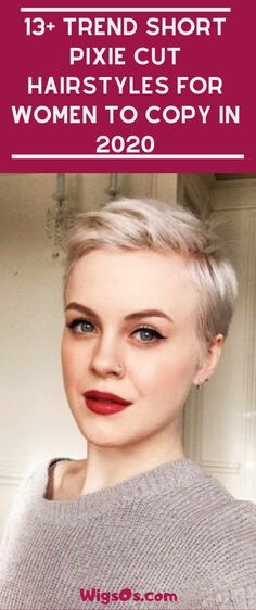 13 Trend Short Pixie Cut Hairstyles For Women to Copy In 2020 Long Pixie Hairstyles, Popular Short Hairstyles, Short Hair Wigs, Wig Hairstyles, Pixie Haircuts, Love Your Hair, Cut My Hair, Hair Cuts, Short Hair Trends