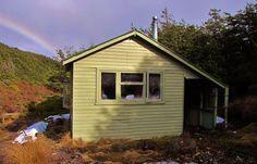 Lupton Hut. August 2013. New Zealand