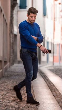 45 Casual Spring Outfits For Men More Look Attractive | Fashionlookstyle.com | Inspiration Your Fashion And Style