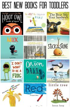 If you're looking for some wonderful new reads, don't look any further than the best new childrens books for toddlers of 2015.