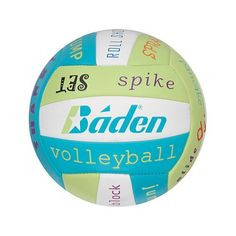 Baden Micro Mini Size Sayings Volleyball by Baden. $10.69. Baden Micro Mini Size Sayings Training Ball - Synthetic, Multicolor