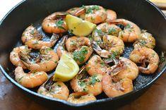 Carmela Soprano's Shrimp Scampi - Shrimp in Garlic Butter Sauce